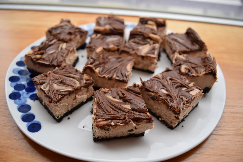 Nutella Cheesecake Bars | confections of a dietitian