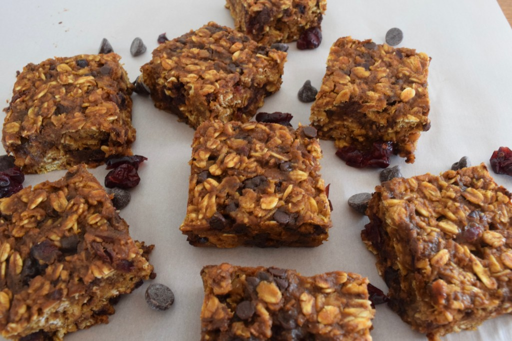 pumpkin granola bars | confections of a dietitian