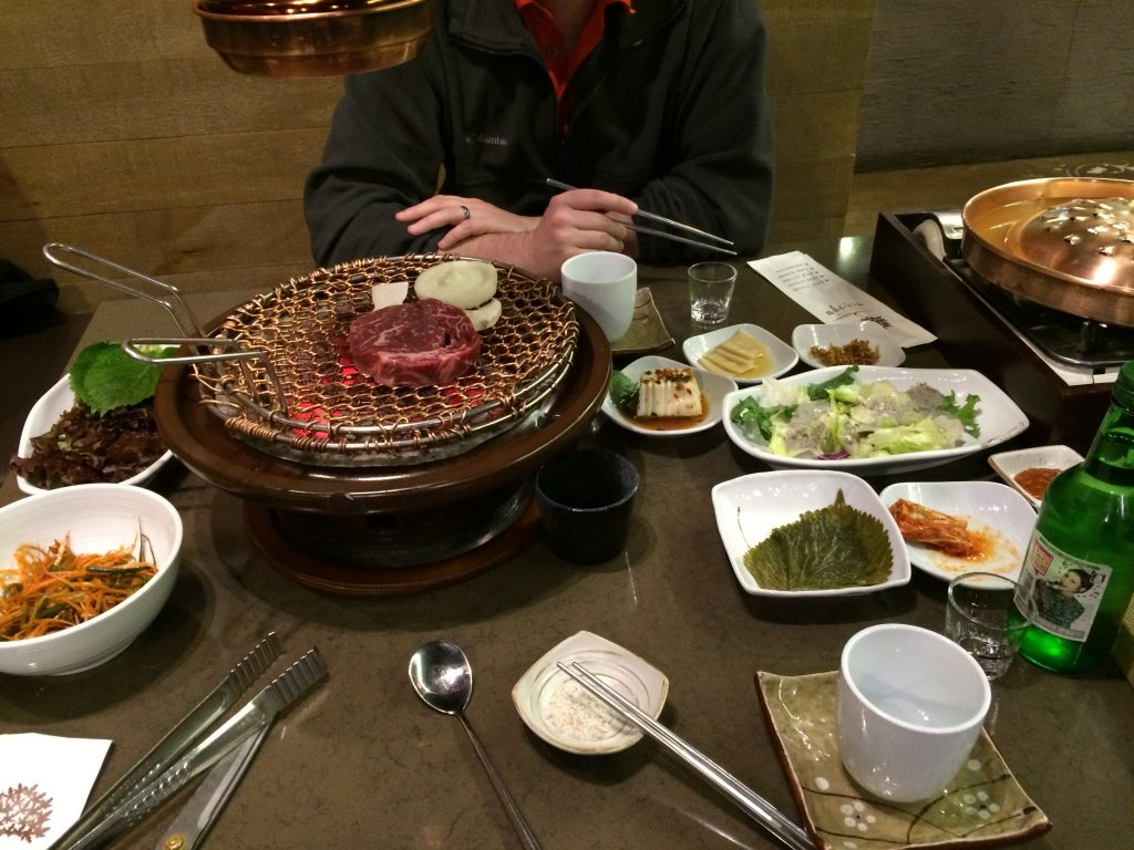korean bbq maple tree house | confections of a dietitian