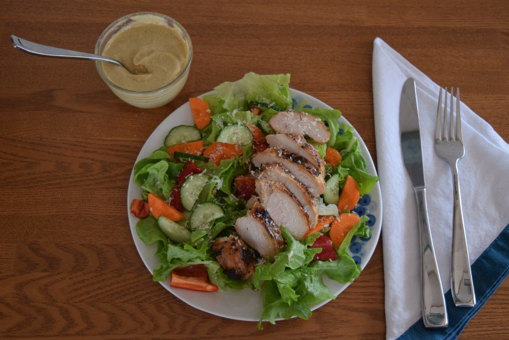 cashew caesar salad dressing | confections of a dietitian