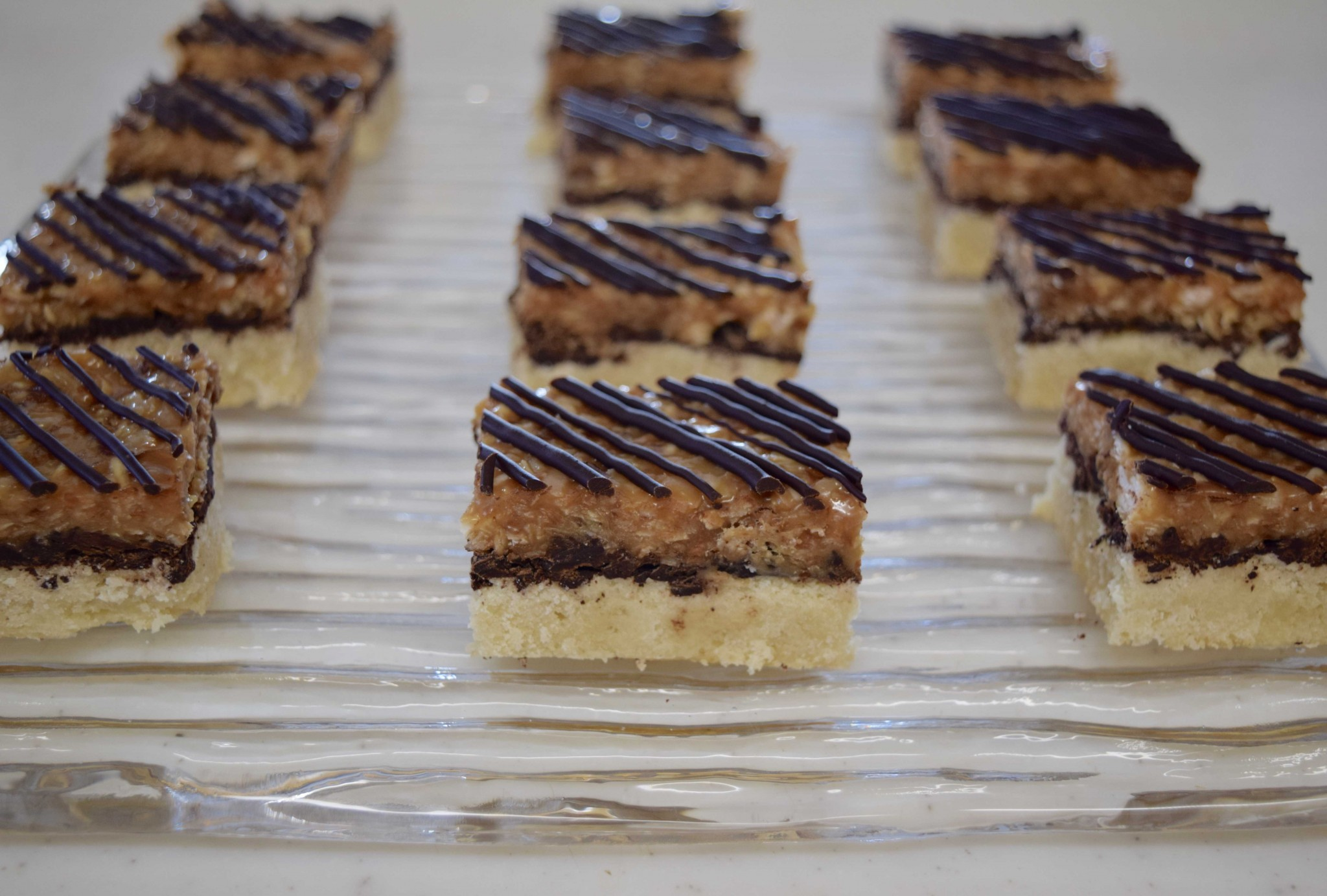 Samoa Cookie Bars – Confections of a Dietitian