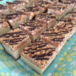 samoa bars | confections of a dietitian
