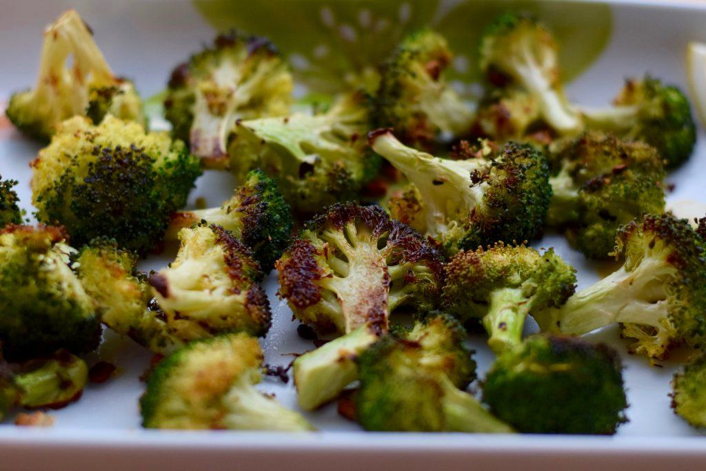 roasted broccoli | confections of a dietitian