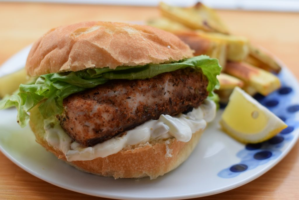 blackened mahi mahi sandwiches | confections of a dietitian