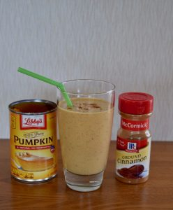 pumpkin pie smoothie | confections of a dietitian