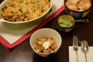 chicken enchilada casserole | confections of a dietitian