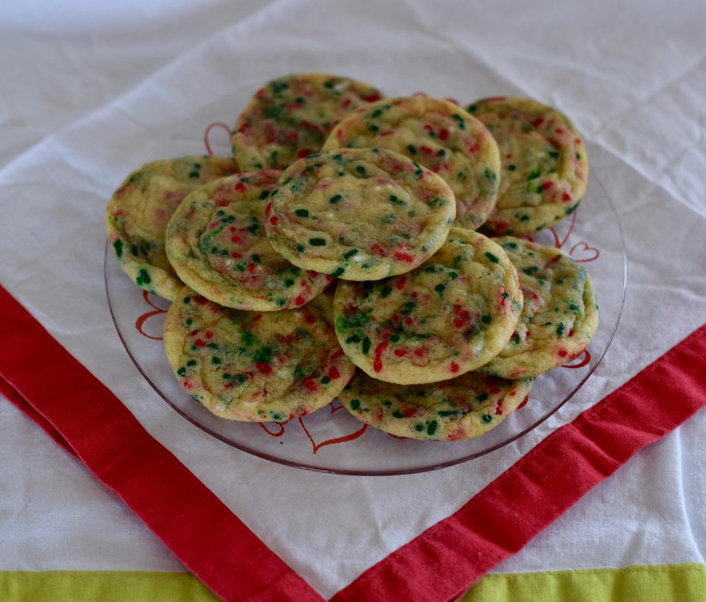 funfetti sugar cookies | confections of a dietitian