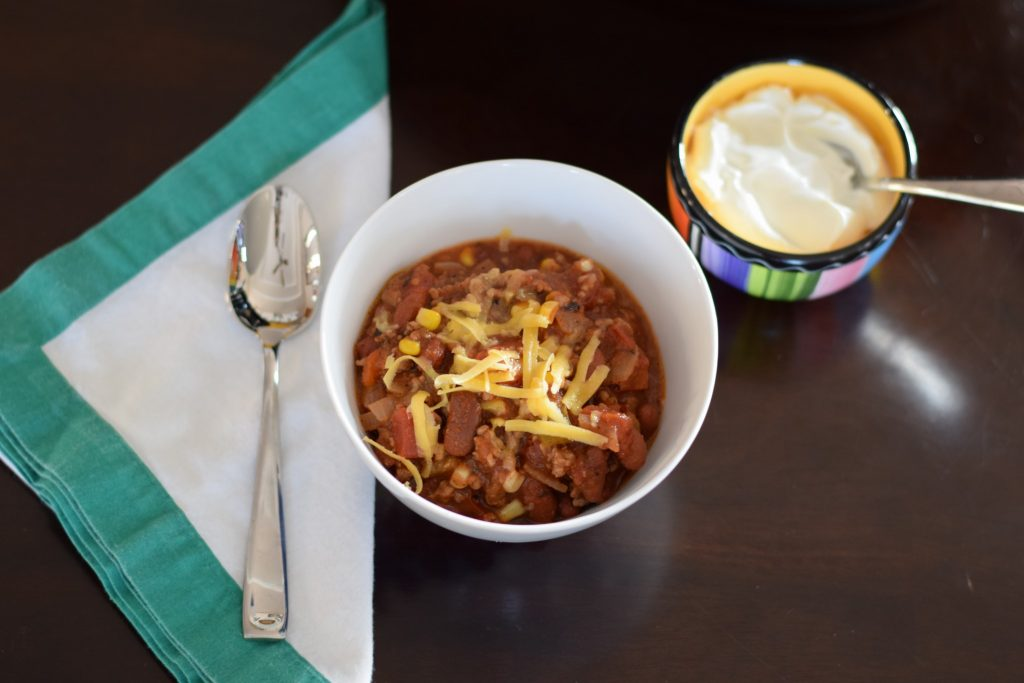 crockpot chili | confections of a dietitian