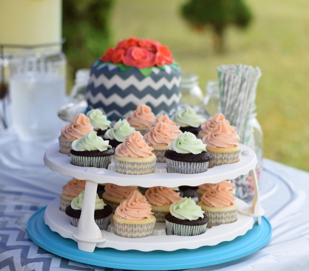 confections of a dietitian | mint chocolate cupcakes