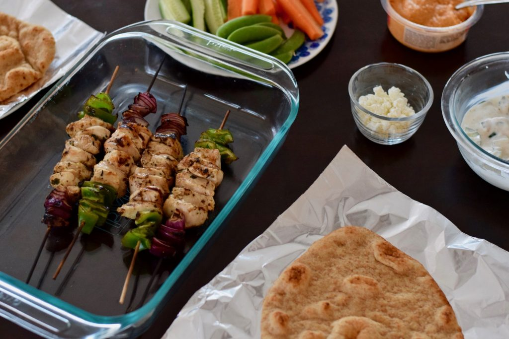 confections of a dietitian | chicken souvlaki