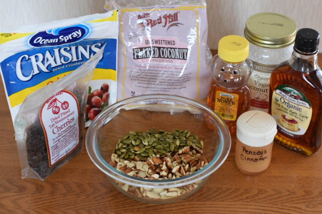 honey cinnamon granola | confections of a dietitian