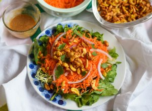 thai carrot salad | confections of a dietitian