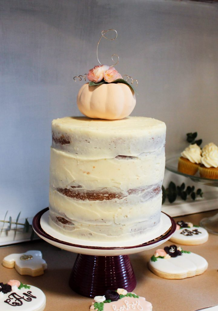 pumpkin layer cake | confections of a dietitian
